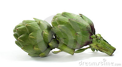 Isolated Artichokes