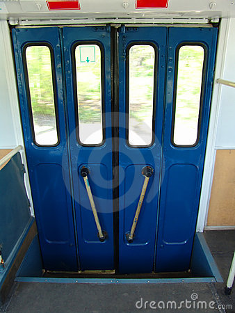Trolley door