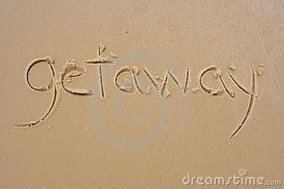 Getaway in the sand