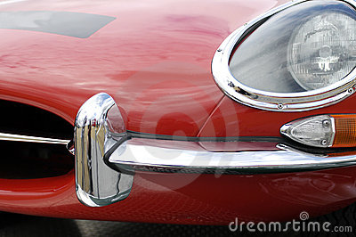 Jaguar E-type chrome nose