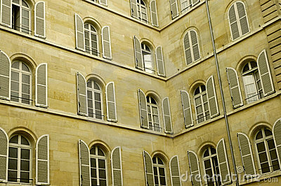 Lot of windows on two walls