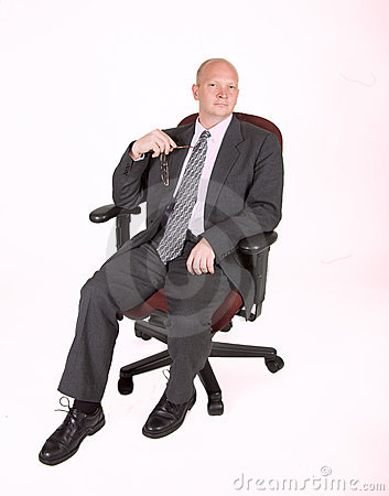 Man In Chair Holding Glasses 02