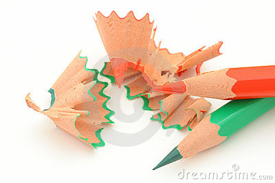Sharpening colored pencils #5
