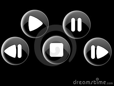 Shiny Controll Buttons