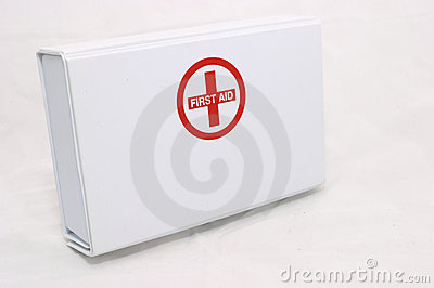 First Aid box standing up