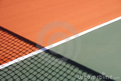 Tennis court background