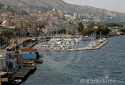 Harbor In Messina, Sicily