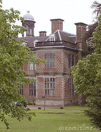 Sudbury Hall (through the trees)