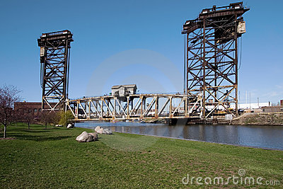 Rolling Lift Bridge