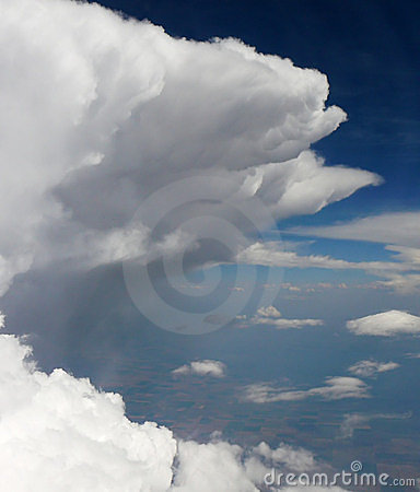 Storm clouds from above -1