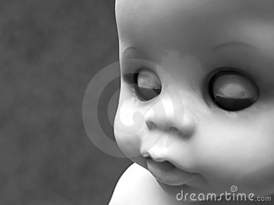 Baby Doll Black and White