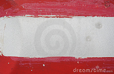 Red and white texture