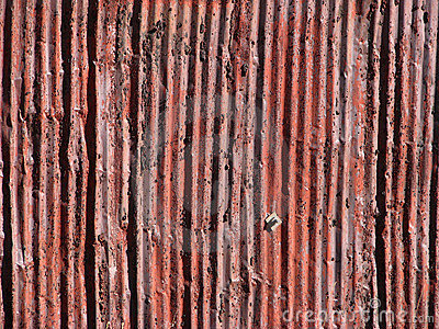Rusty Old Aluminum Siding
