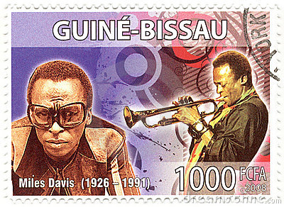Stamp with Miles Davis