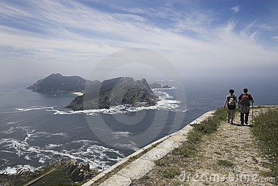 Cies Islands in Galicia, Spain