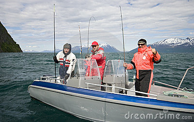 Successful fishing in Norway