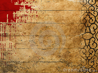 Splattered grunge background