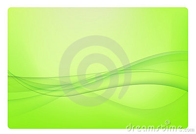 Green abstract background