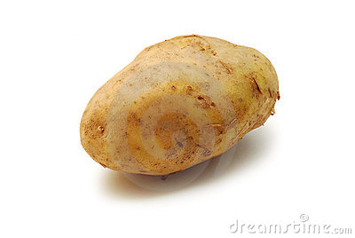 Potato isolated