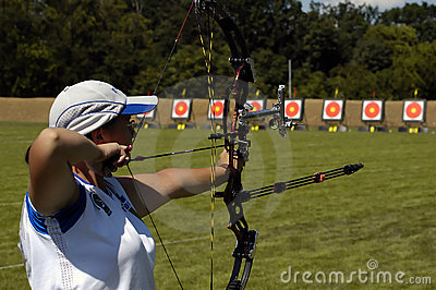 Female archery