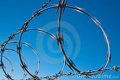 Barbed Wire Spiral