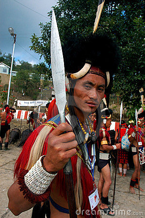 Land & People of Nagaland-India.