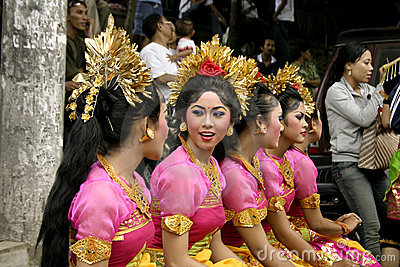 Balinese Dancer Girls