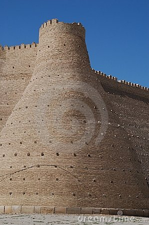 Buchara sightseeing: Ark City Walls