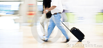 Hurry on airport