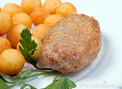 Chops with potatoes