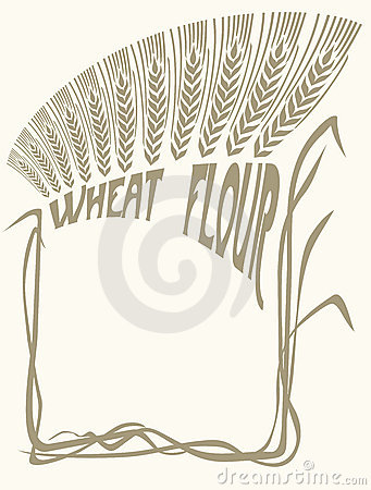 Wheat flour vignette