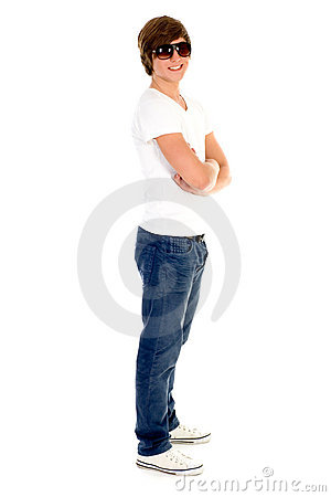 Young man standing