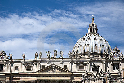 Saint Peter cathedral - Vatican - Rome - Italy