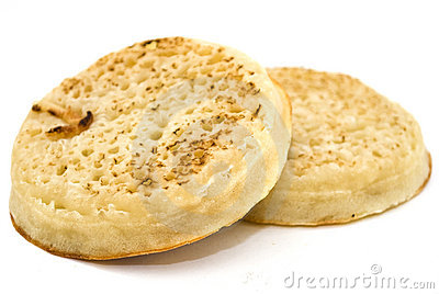 Toasted crumpet