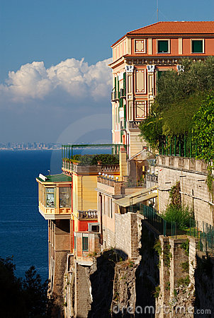 Colorful Villa, Sorrento, Italy