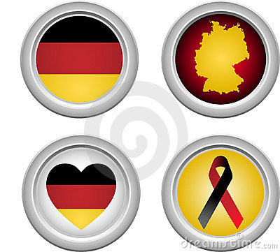 Germany Buttons