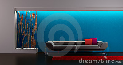 Design of the longe room