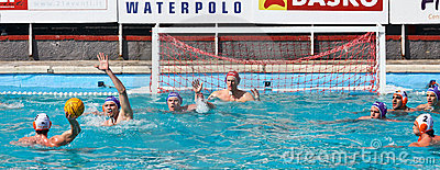 Waterpolo action