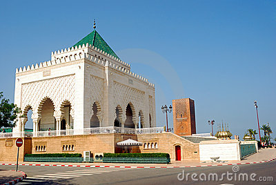 Mausoleum of V. Mohamed, Rabat, Morocco