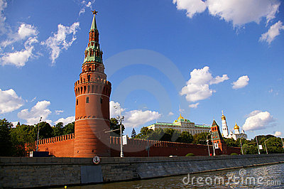 The Moscow Kremlin Towers