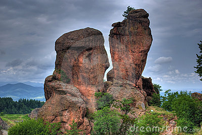 Rock formation hdr