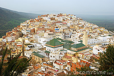Mausoleum, Moulay Idriss, Morocco