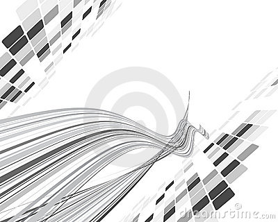 Black and white checked background