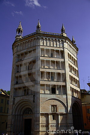 baptistery  of Parma