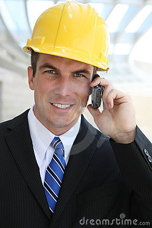 Business Construction Man