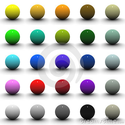 3D Sphere Blank Collection