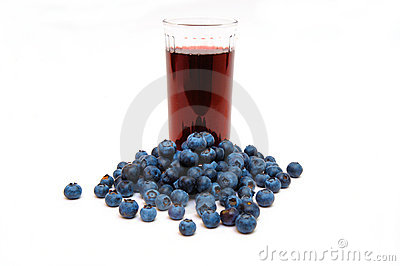 Blueberries And Blueberry Juice