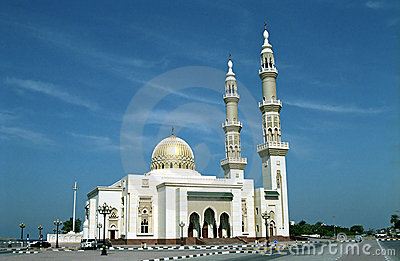 Mosque, Sharjah, United Arab Emirates