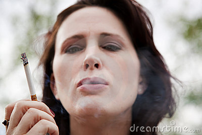 Pretty Woman Smoking