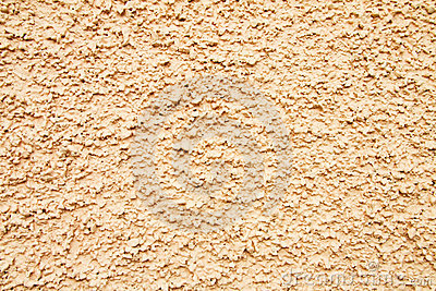 Wall texture in cream